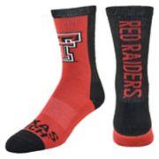 Women's Mojo Texas Tech Red Raiders Loud & Proud Crew Socks