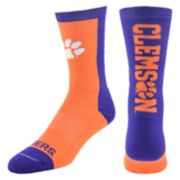 Women's Mojo Clemson Tigers Loud & Proud Crew Socks
