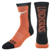 Women's Mojo Texas Longhorns Loud & Proud Crew Socks