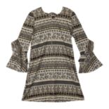 Girls 7-16 IZ Amy Byer A-Line Knit Swing Dress
