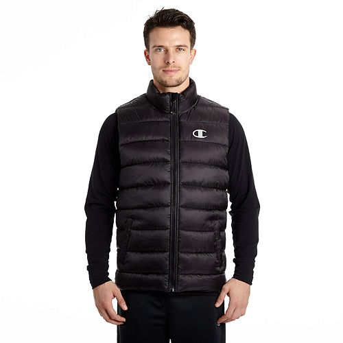 Men's Champion Quilted Puffer Vest