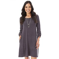 Women's Apt. 9® Plush Swing Dress