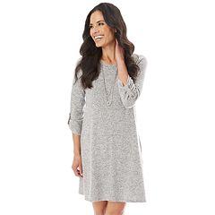 Women's Apt. 9® Fuzzy Swing Dress
