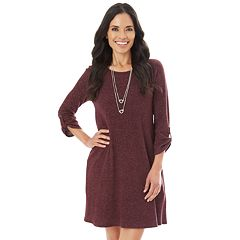 Women's Apt. 9® Fuzzy Swing Dress