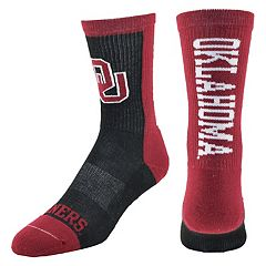 Youth Mojo Oklahoma Sooners Loud & Proud Crew Socks