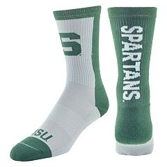 Youth Mojo Michigan State Spartans Loud & Proud Crew Socks