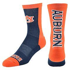 Youth Mojo Auburn Tigers Loud & Proud Crew Socks