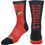 Youth Mojo Louisville Cardinals Loud & Proud Crew Socks