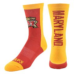 Youth Mojo Maryland Terrapins Loud & Proud Crew Socks