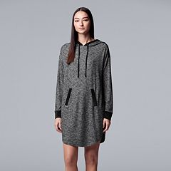 Women's Simply Vera Vera Wang Hooded Sleepshirt