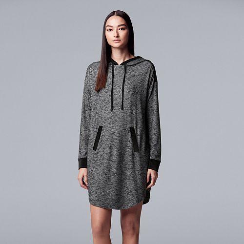 Women's Simply Vera Vera Wang Hooded Sleepshirt