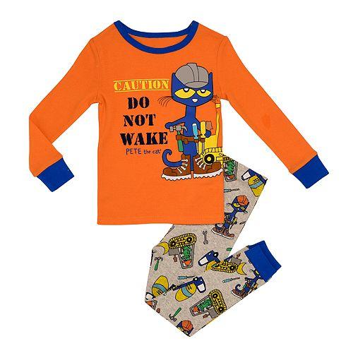 Toddler Boy Pete the Cat Top & Bottoms Pajama Set