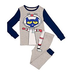 Toddler Boy Pete the Cat Astronaut Top & Bottoms Pajamas