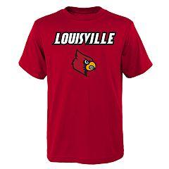 Boys' 4-18 Louisville Cardinals Goal Line Tee