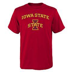 Boys' 4-18 Iowa State Cyclones Goal Line Tee