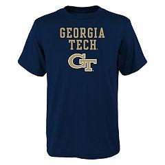 Boys' 4-18 Georgia Tech Yellow Jackets Goal Line Tee