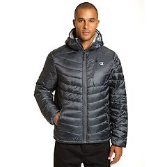 Men's Champion Insulated Hooded Puffer Jacket