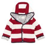 Baby Burt's Bees Baby Organic Hooded Reversible Jacket