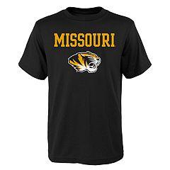 Boys' 4-18 Missouri Tigers Goal Line Tee