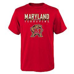 Boys' 4-18 Maryland Terrapins Goal Line Tee