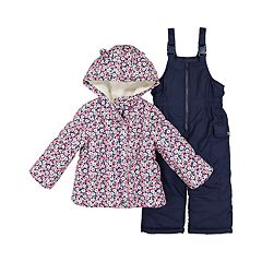 Toddler Girl OshKosh B'gosh® Floral Heavyweight Jacket & Snowpants Set