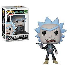 Funko POP! Animation Prison Escape Rick Figure