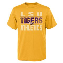Boys' 4-18 LSU Tigers Light Streaks Tee