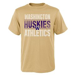 Boys' 4-18 Washington Huskies Light Streaks Tee