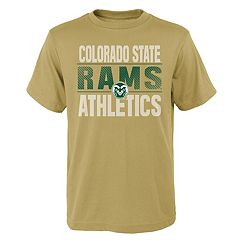 Boys' 4-18 Colorado State Rams Light Streaks Tee