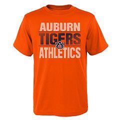 Boys' 4-18 Auburn Tigers Light Streaks Tee