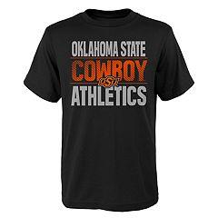 Boys' 4-18 Oklahoma State Cowboys Light Streaks Tee