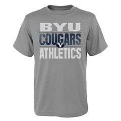 Boys' 4-18 BYU Cougars Light Streaks Tee