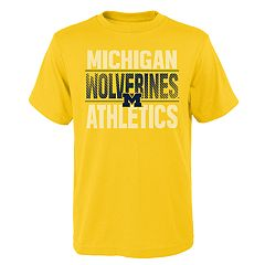 Boys' 4-18 Michigan Wolverines Light Streaks Tee