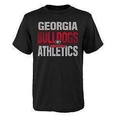 Boys' 4-18 Georgia Bulldogs Light Streaks Tee