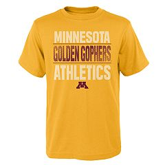 Boys' 4-18 Minnesota Golden Gophers Light Streaks Tee