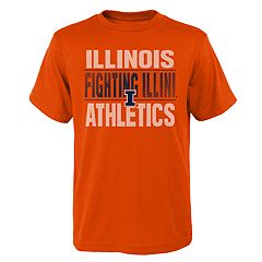 Boys' 4-18 Illinois Fighting Illini Light Streaks Tee
