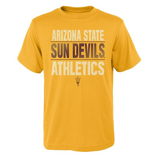 Boys' 4-18 Arizona State Sun Devils Light Streaks Tee