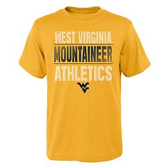 Boys' 4-18 West Virginia Mountaineers Light Streaks Tee