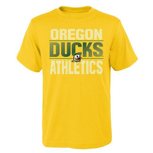 Boys' 4-18 Oregon Ducks Light Streaks Tee