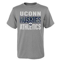 Boys' 4-18 UConn Huskies Light Streaks Tee