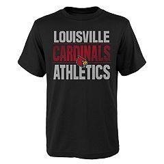 Boys' 4-18 Louisville Cardinals Light Streaks Tee