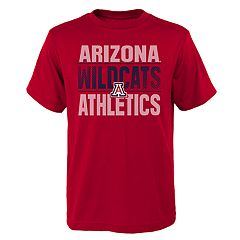 Boys' 4-18 Arizona Wildcats Light Streaks Tee