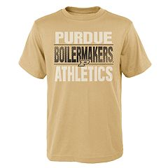 Boys' 4-18 Purdue Boilermakers Light Streaks Tee