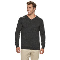 Big & Tall SONOMA Goods for Life™ Supersoft Modern-Fit V-Neck Sweater