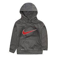 Toddler Boy Nike Dri-FIT Football Logo Hoodie