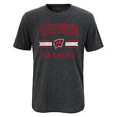 Boys 4-18 Wisconsin Badgers Player Pride Tee