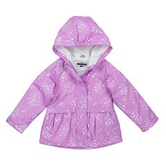 Toddler Girl OshKosh B'gosh® Star Hooded Peplum Midweight Jacket
