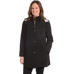 Women's Fleet Street Hooded Faux Silk Jacket