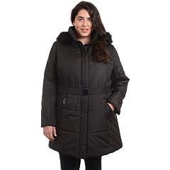 Women's Fleet Street Hooded Puffer Heavyweight Jacket