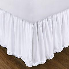Sasha White Bedskirt